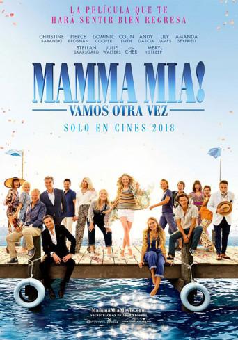 Poster de:1 Mamma Mía! Vamos otra vez