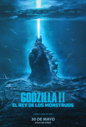 Poster de:1 Godzilla II: Rey de los monstruos