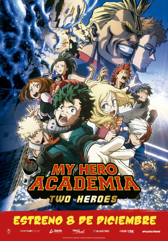 My Hero Academia: Two Heroes, la película